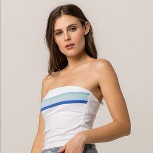 Pacsun White Tube Top